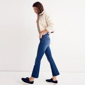 Madewell Cali Demi-Boot Jeans w/ Raw Hem (26)